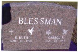 E Ruth <I>Friedrich</I> Blessman