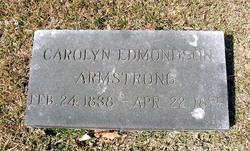 Mary Carolyn <I>Edmondson</I> Armstrong