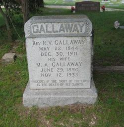 Rev Robert Vincent Gallaway