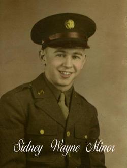 SGT Sidney Wayne Minor