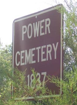 Power Cemetery 1837