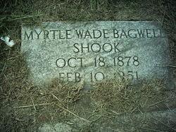 Myrtle Lovelace <I>Wade</I> Bagwell Shook