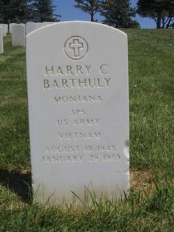 Spec Harry C Barthuly