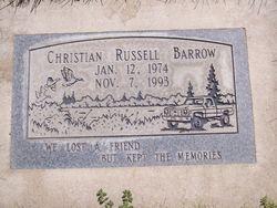 Christian Russell Barrow