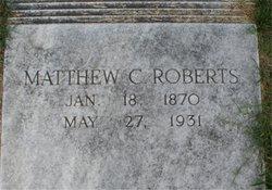 Matthew Cartwright Roberts, Sr