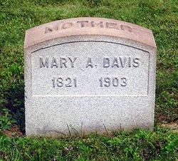 Mary <I>Clark</I> Davis