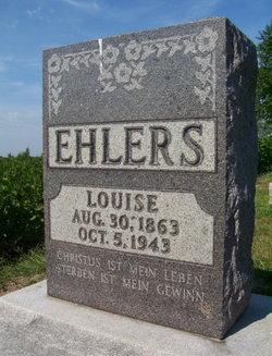 Louise <I>Joritz</I> Ehlers