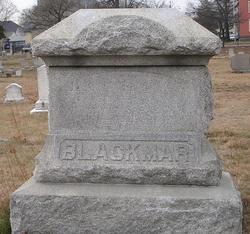 Sarah <I>Packard</I> Blackmar