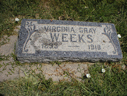 Virginia Addie <I>Gray</I> Weeks