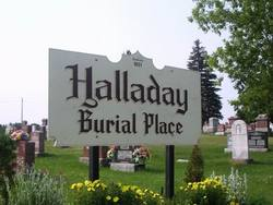 Halladay Burial Place