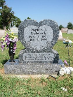 Phyllis June <I>Stone</I> Babcock