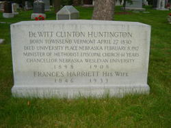 Frances Harriett <I>Davis</I> Huntington
