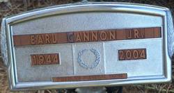 """Earl Wesley """"Red Baby"""" Cannon, Jr"""