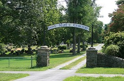 New Saint Mary's Catholic Church Cemetery