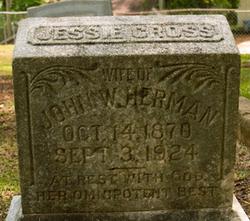 Jessie <I>Cross</I> Herman