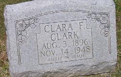 Clara F <I>Wall</I> Clark