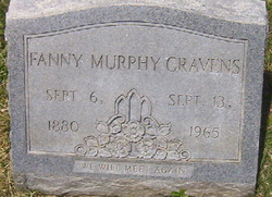 Fanny <I>Elliott Murphy</I> Cravens