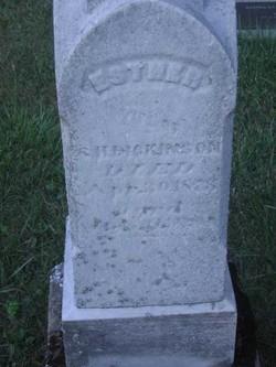 Esther <I>Hill</I> Dickinson