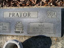 Clara Mae <I>Elrod</I> Prator
