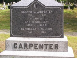 Ann M <I>Cressey</I> Carpenter