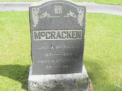 Carey A McCracken