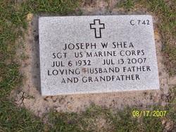 Sgt Joseph W Shea