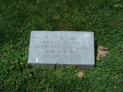 Abigail Prather <I>Churchill</I> Clark