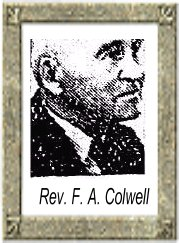 Rev Frank A Colwell