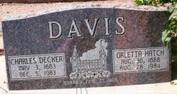 Alice Orletta <I>Hatch</I> Davis