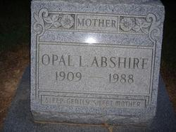 Opal L Abshire