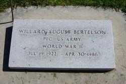 Willard August Bertelson