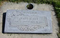 Marie Christine <I>Christensen</I> Fife