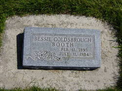 Bessie Leone <I>Goldsbrough</I> Booth