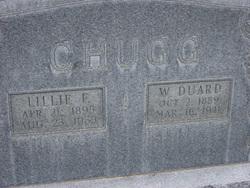 Lillie Elizabeth <I>Frederick</I> Chugg