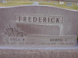 Myron Jacob Frederick