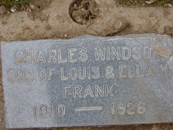 Charles Windsor Frank