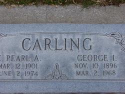 Clara Pearl <I>Astle</I> Carling