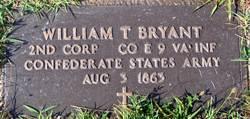 Corp William T. Bryant
