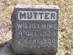 Caroline Albertine Wilhelmine <I>Muelleger</I> Krueger
