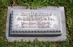 Capt Darius S. Gibbs