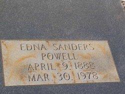 Edna <I>Sanders</I> Powell