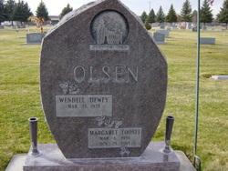Margaret Erma <I>Loosli</I> Olsen