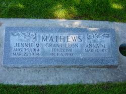 Grant Leon Mathews