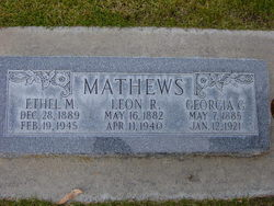 Leon Robbins Mathews