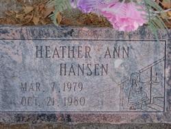 Heather Ann Hansen