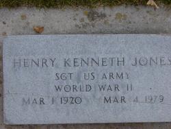 Henry Kenneth Jones
