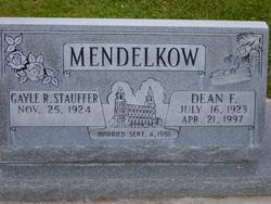 Dean Frederick Mendelkow
