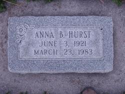 Anna Pernilla <I>Bergquist</I> Hurst