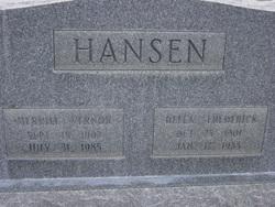Della <I>Frederick</I> Hansen