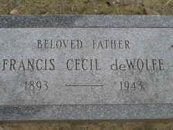 Francis Cecil deWolfe